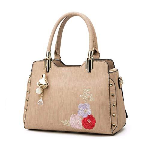 NA Moda Borse Donna-Borse e borsette for Le Donne Spalla Borsa delle Signore di Modo Top Handle Satchel Borse Designer (Color : A)
