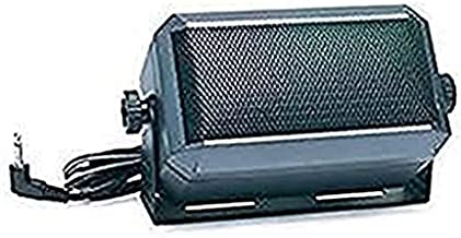 Rectangular External Communications Speaker for Ham Radio, CB & Scanners