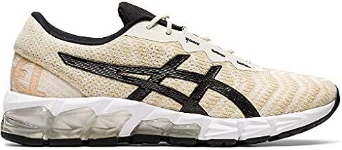 ASICS Women's Gel-Quantum 180 5 Running Shoes, 8M, Birch/Black