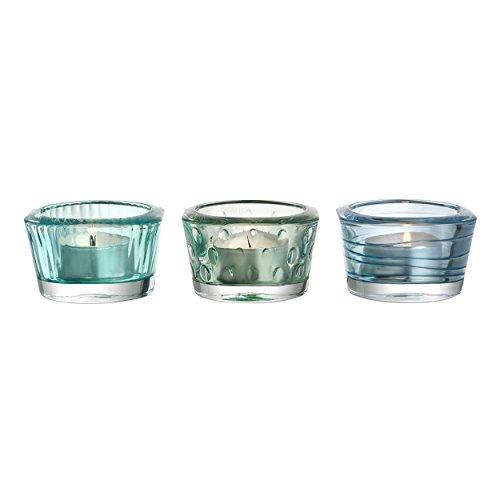 Leonardo Vario Glas mehrfarbig Kerzenhalter