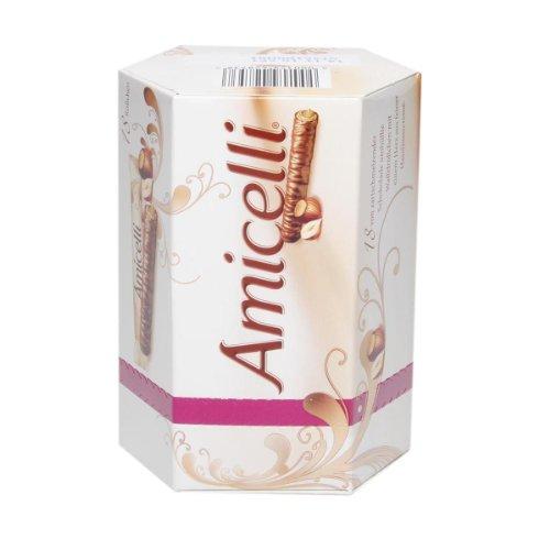 Amicelli Rolchen Schokolade umhülte Wafferröllchen - 1 x 225 g