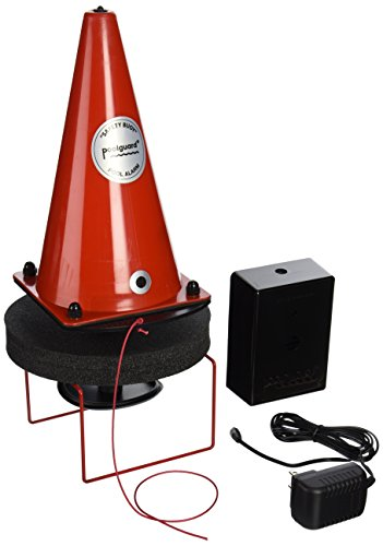 PoolGuard PGRM-SB Safety Buoy Above Ground Pool Alarm, Red