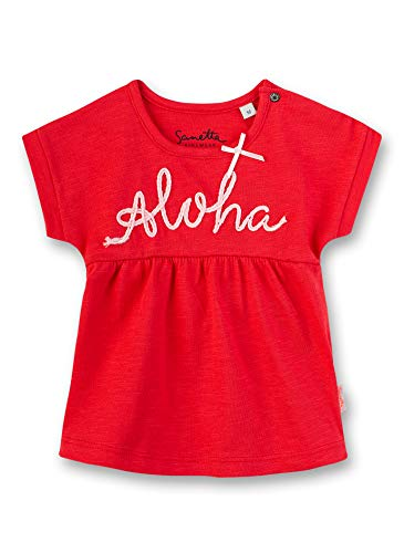 Sanetta Shirt, Rouge (Fresh Strawberry 3904), 62 (Taille Fabricant: 062) Bébé Fille