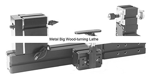 Fantastic Deal! TZ20003MB 60W Metal Big Wood-turning Lathe/60W,12000rpm Powerful large wood working ...