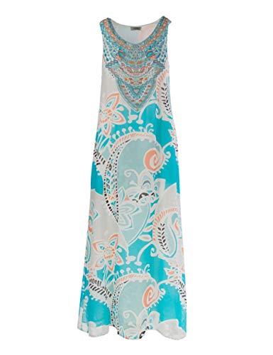 Malvin Damen Kleid, Aqua (DE38)