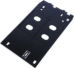 syoon Inyección de tinta PVC tarjeta de identificación bandeja de plástico Bandeja de impresión de tarjetas para Canon iP7240iP7250IP7260IP7270ip7280MG7510MG7520MG7540MG7550