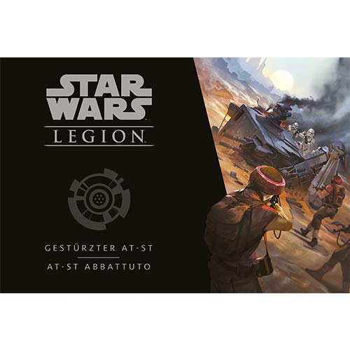 Asmodee Italia - Star Wars Legion expansión AT ST batido, Color, iSWL30