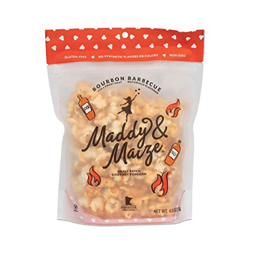 Best Review Of Maddy & Maize Gourmet Popcorn - Gluten Free, Non-GMO - Bourbon Barbecue, 4 ounce Bag ...