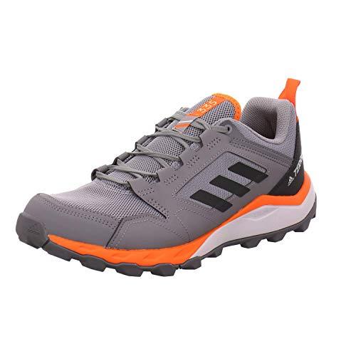 adidas Herren Terrex Agravic Tr Leichtathletik-Schuh, Grau DREI F17 / Kern Schwarz/Orange, 44 EU