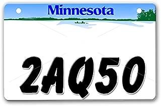 onestopairbrushshop ATV License Plate