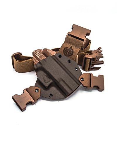 GunfightersINC Kenai Chest Holster for Glock 29/30/30s (MAS...