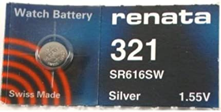 Renata Watch Battery 321, 1 Battery