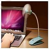 Duradero Ventilador de Clip USB Silenciador Mini Ventilador de Mano Ventilador de Cochecito de bebé al Aire Libre Ventilador de Clip Flexible de Escritorio Conveniente (Color : 03)