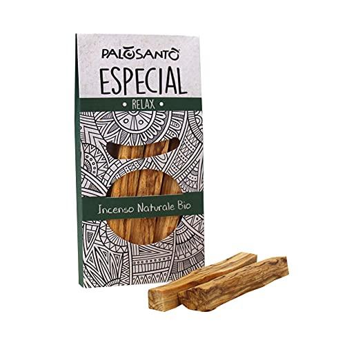 Palo Santo Incienso Natural - PALOSANTO Madera Sagrada - Palitos Especial - 3 Palitos - Aroma para...