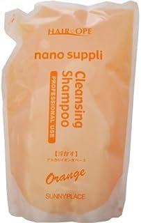 サニープレイス ナノサプリ クレンジングシャンプー オレンジ 800ml