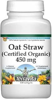 Wild Oat Straw (Avena Sativa) (Certified Organic) - 450 mg (100 Capsules, ZIN: 518609)