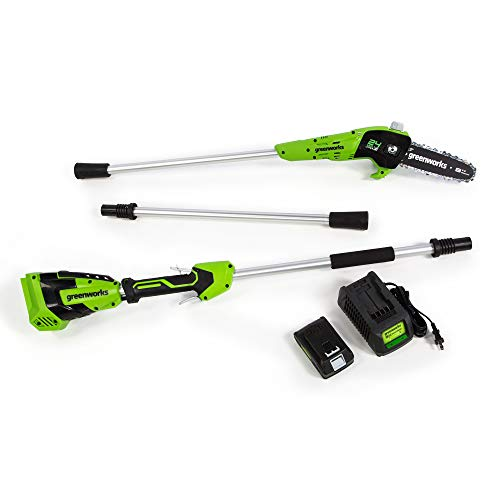 Cheapest Prices! Greenworks Cordless Pole Saw