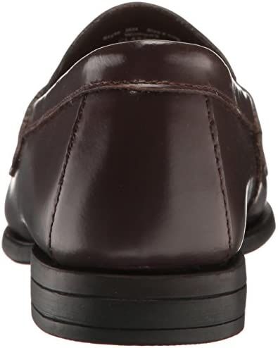 Burgundy loafers with spikes _image4