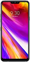 """LG G7 ThinQ 6.1"""" Display T-Mobile + AT&T (GSM Unlocked) 64GB Android Smartphone, Aurora Black (Renewed)"""