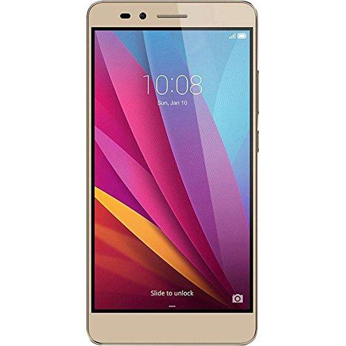 Honor 5X Smartphone (5,5 Zoll (14 cm) Touch-Bildschirm, 16 GB interner Speicher, Android 5.1) gold