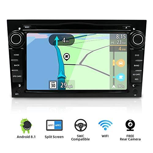 YUNTX Android 8.1 Autoradio para Opel Astra/Vectra/Zafira | 2 DIN | Cámara Trasera y canbus Gratis | 7 Pulgada | 2GB/32GB | Soporte Dab+ | 4G | WLAN | Bluetooth | MirrorLink (Black)