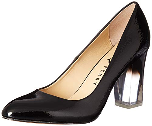 Katy Perry Women's The A.W. Middie-Crinkled Patent Pump black 7 M M US