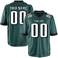 UIOP Custom All Teams Fashion Style Design Football Jerseys Personalized Any Name and Number Jerseys Mens Womens Youth (Philadelphia Eagle)