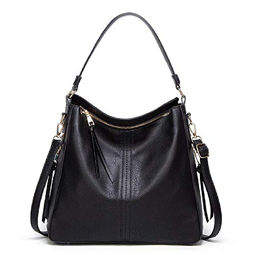 Female bag PU leather retro female bag elegant lady hobo shoulder bag messenger wallet satchel