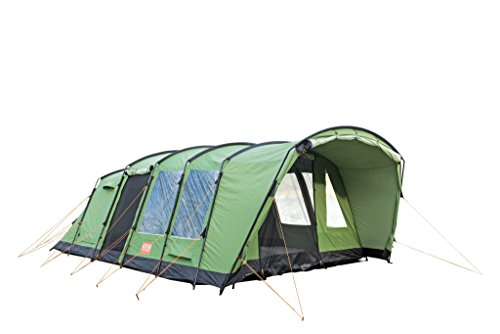 Crua Loj   6 Person All Weather Insulated Breathable Family Camping Tent   Weatherproof, Warmth & Cooling Insulation 2 Bedroom   Great for Winter/Snow/Rain & Summer/Heat, Glamping, Hunting, Hiking