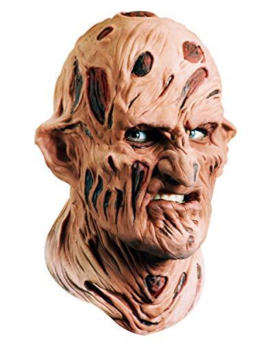 Freddy Schaumlatex Maske für Halloween & Horrorfilm Mottopartys