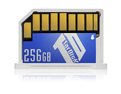 TarDisk 256GB | Storage Expansion Card for MacBook Pro 13' R13A (New MacBook Retina)