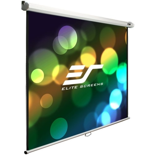 "Elite Screens, Inc - Elite Screens M100s Manual Projection Screen - 100"" - 1:1 - Wall/Ceiling Mount - 71"" X 71"" - Maxwhite ""Product Category: Accessories/Projection Screens"""