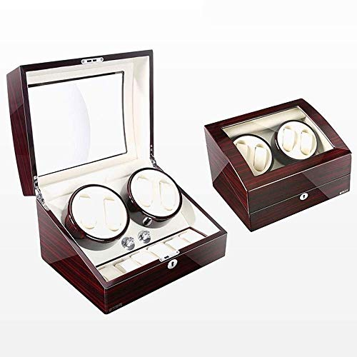 MxZas Watch Shaker Automatic Mechanical Watch Active Wire Winder Rocker Shake Watch Whearry Watch Watch Box Fashion (Color: C) Jzx-n (Color : A)