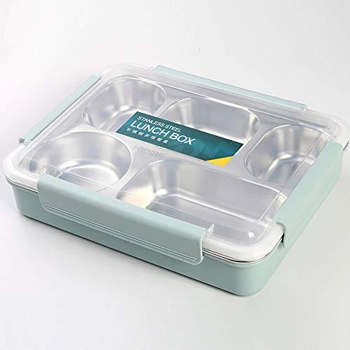 Nuevo diseño Lunch Box 304 Inyección de agua de acero inoxidable Aislamiento físico Reducción de...