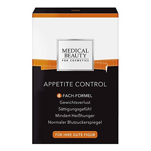 MEDICAL BEAUTY® APPETITE CONTROL | 4-fach-Formel für Gewichtsverlust | pro Sättigungsgefühl | reduzierte Fettaufnahme durch ID-alG™ | Anti Heißhunger | Vegan | Inhalt: 42 Sticks