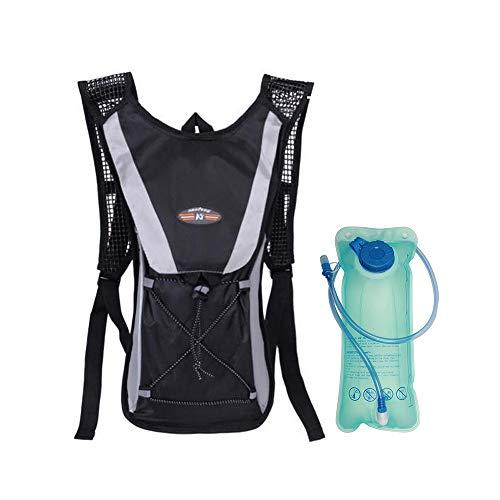 Irfora Mochila de Hidratación con vejiga de Agua de 2 litros,para Bicicleta Ciclismo Senderismo Excursionismo