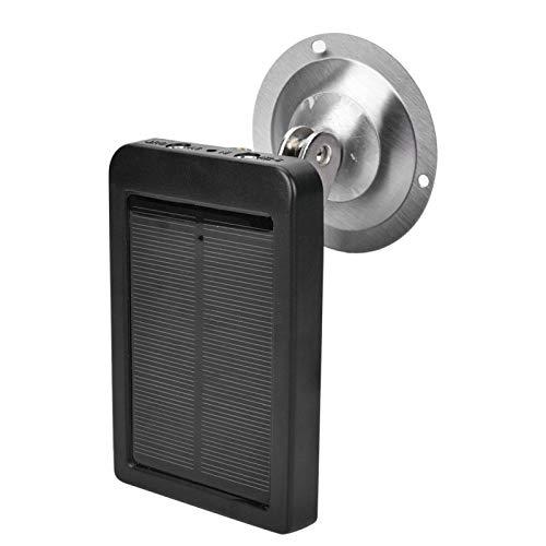 Installation Gürtel/Stativ Solarpanel Ladegerät Batterie, Solar Power Ladegerät Batterie 1500mah 9V, für Rückfahrkamera