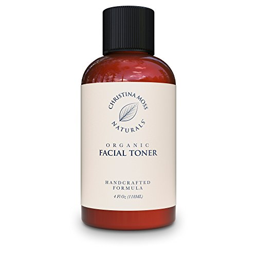 Christina Moss Naturals Facial Toner - Face Toner Made with Organic & Natural Ingredients - Skin Clearing, Refines, Tightens Pores, Hydrates, Restores pH....