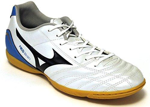 Mizuno Neo Shin Indoor Fußballschuhe, Weiß - Bianco - Größe: 45 EU