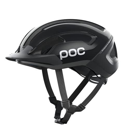POC Omne Air Resistance SPIN Helmet, Unisex Adulto, Uranium Black, Med