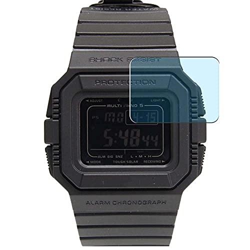 Vaxson 3-Pack Anti Luce Blu TPU Pellicola Protettiva, compatibile con CASIO G-SHOCK GW-5500, Screen Protector Film [ Non Vetro Temperato ]