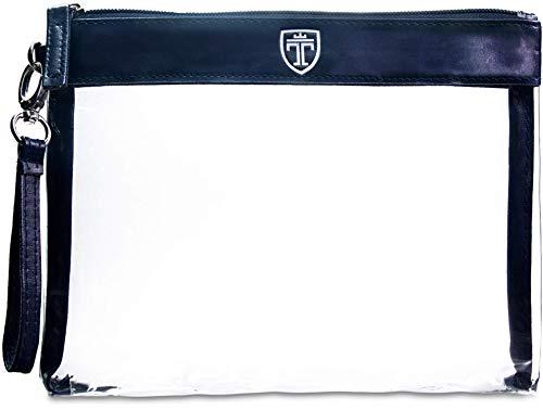 TRAVANDO ® Neceser transparente - 1l de capacidad - bolsa para llevar...