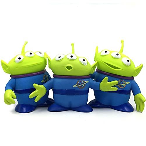 3 Unids / Set Anime Toy Story 4 Figuras AlienígenasPVCFigura De Acción Alienígena Toy Story 3 4Dolsl15Cm, Modelo Muñeca De Colección Juguetes Juguete De Regalo De Cumpleaños para Niños