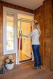 Cool Genius Retractable Screen for Single Door (Standard {Width (32' to 36') x Hight 80', White)