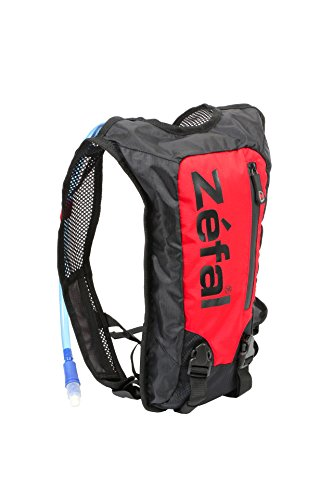Zefal Unisex's Z Hydro Hydration Backpack, Black/Red, Small