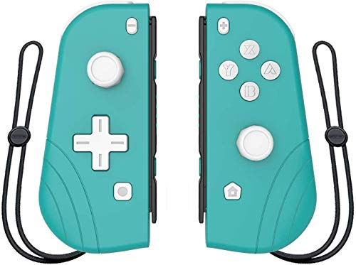 Wireless Controller for Switch, ANTCOOL Set of 2 Left Right Wireless Bluetooth Gamepad Joystick Controller Compatible with Switch Wake-up Function (Light Gray)