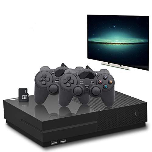 YLM Retro Spielkonsole, Entertainment-System HD-Videospielkonsole 800 Klassische Spiele 4K-HDMI-TV-Ausgang mit 2PCS Joystick für eine große Gifi für Game-Player von Anbernic (Schwarz)
