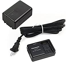 Panasonic Power Pack for Consumer Camcorder, Black (VW-PWPK)