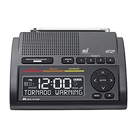Midland Deluxe NOAA Emergency Weather Alert Radio