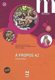 À propos A2. Livre de l'élève mit Audio-CD